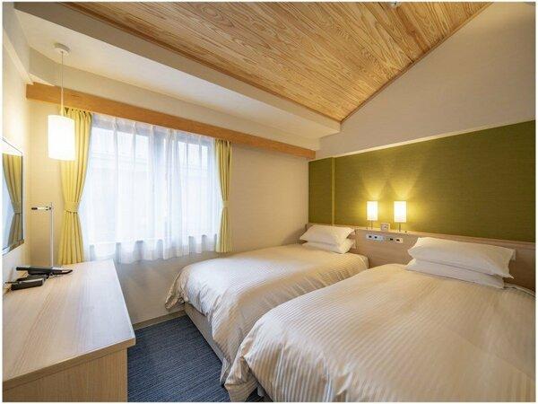 ◆エコノミーツイン 15平米 ベッドサイズ970×1950