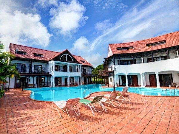 提携施設「ザ・プールリゾート沖縄」のプールをご利用できます。