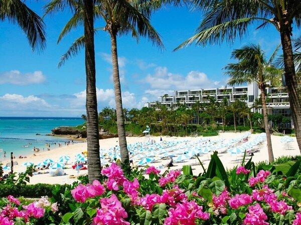 南国ならではの自然に囲まれたホテルムーンビーチ☆