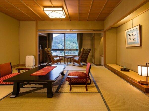 【和室12.5畳】和の落ち着いたしつらいのお部屋(一例)