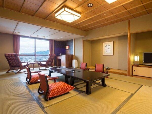 【和室15畳】和の落ち着いたしつらいのお部屋(一例)
