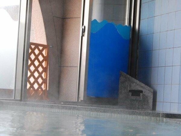 ◆大浴場:ゆったりつかれる湯船でくつろぎのひと時を