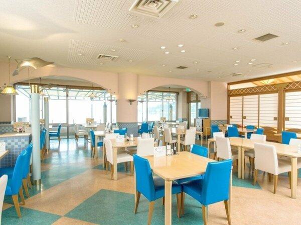 ◆レストラン:目の前は瀬戸内海!オーシャンビューです!