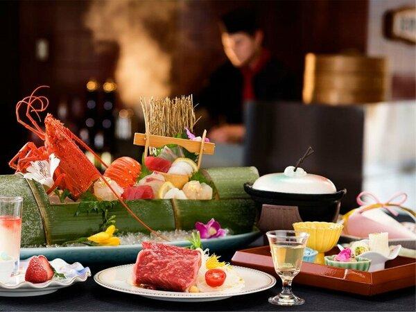【レストランゐきり】ご夕食のイメージ