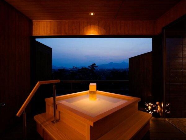 【貸切露天風呂なごみ湯】プライベートな湯浴みを楽しむ貸切露天風呂