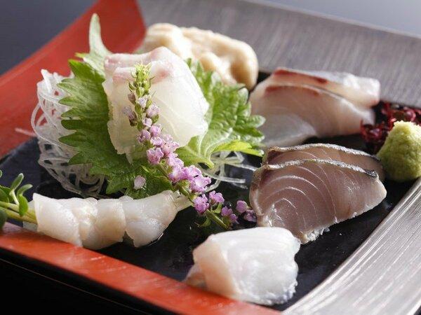 瀬戸内の新鮮な魚介類を堪能