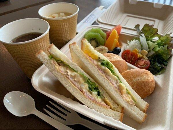 テイクアウトBOX朝食