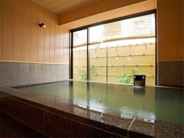 【大浴場】温泉で日頃の疲れを癒してください