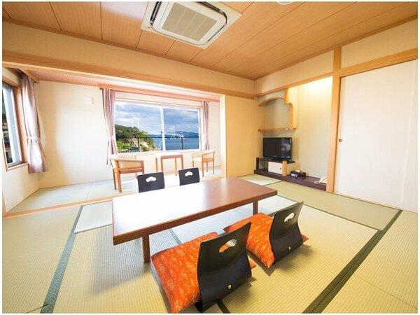 和室/オーシャンビュー和室10畳☆禁煙(バス・トイレ付)