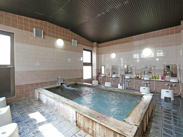 天然温泉の大浴場♪金比羅山に登って疲れた体をリフレッシュして下さい(*^_^*)