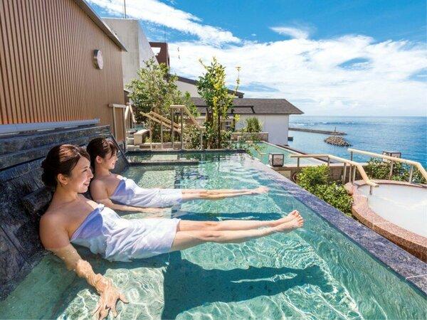 *【露天風呂】地上35mの露天風呂。絶景を楽しみながら、開放感溢れる時間を心ゆくまで。