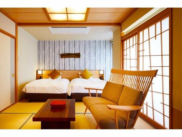 【本館】寝湯付き和洋室(誕生寺側)1