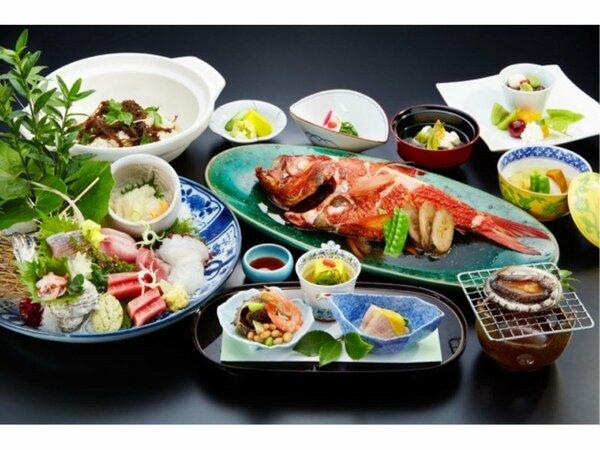 料理イメージ (刺身と金目鯛は2名様盛り込み)