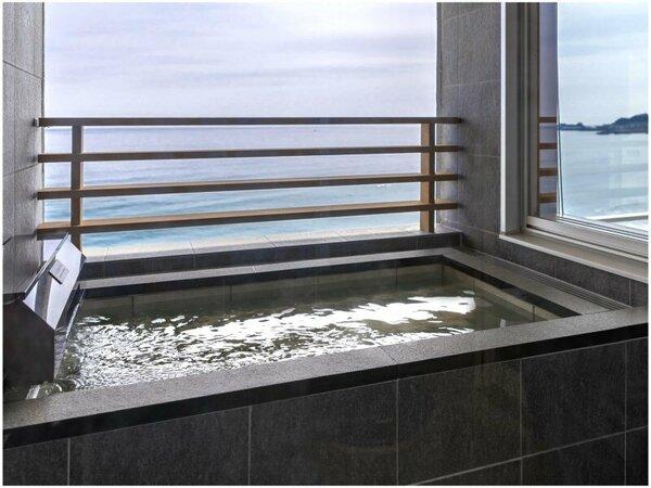【プレミアムフロア】露天風呂付き客室 露天風呂