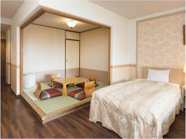 【40平米以上の和洋室】こちらのお部屋は4.5畳の和室がついてます。