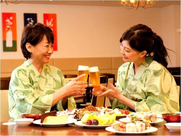 ビールで乾杯~☆ディナータイムはビールやお酒が最高に合います♪