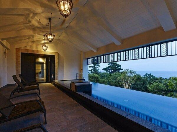 温浴施設「ブリサマリナ」2階女性用露天風呂