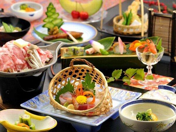 魚介類を中心とした会席料理