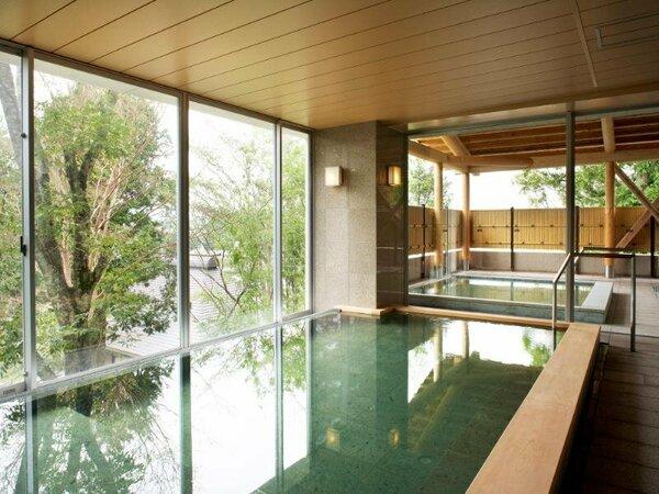 宿泊者専用大浴場は、名水で有名な御殿場の天然温泉が楽しめます。