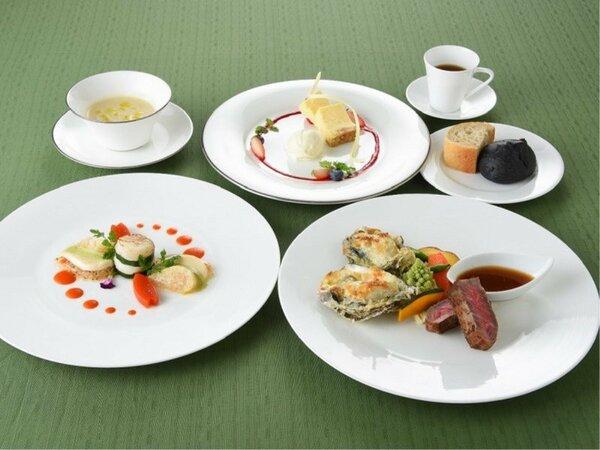 地産地消のメイン料理が自慢の雅コース【2020冬】