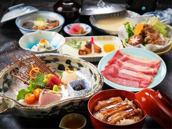 """【基本会席】季節毎に異なる[こだわりの海鮮飯]が大人気!海沿い宿ならではの""""新鮮素材""""を"""