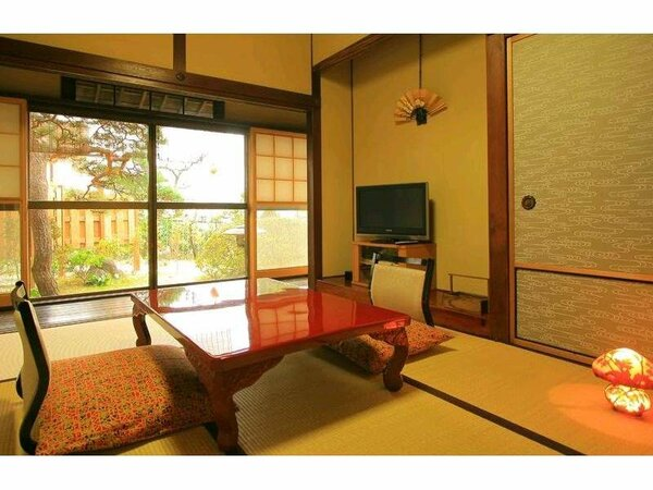 山つつじ 和室二間 日本庭園付き