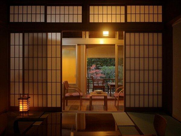 【露天風呂付き客室10~12畳】一例 ※設えは客室毎に異なります