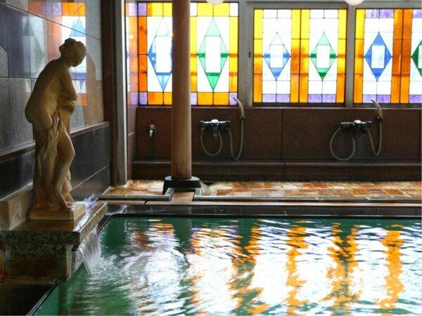6階大浴場 レトロな雰囲気が落ち着きます