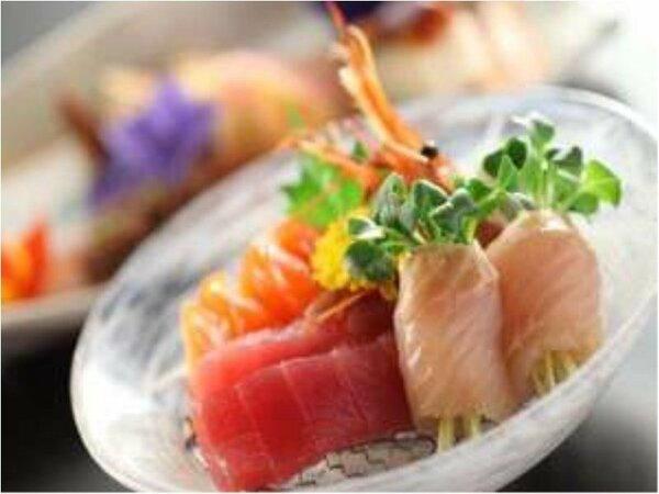 ■料理■信州懐石膳~お造り~