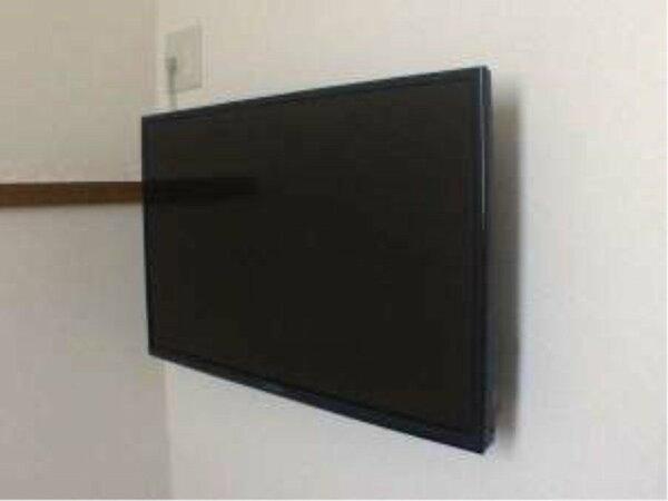 2017年4月中旬に全部屋32型TVにリニューアル。