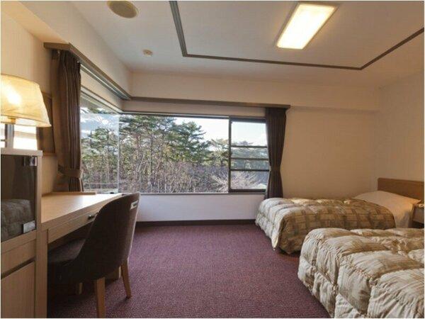 ビジネスツインルーム イメージ:ご出張などビジネスのお客様向けのお部屋となります。