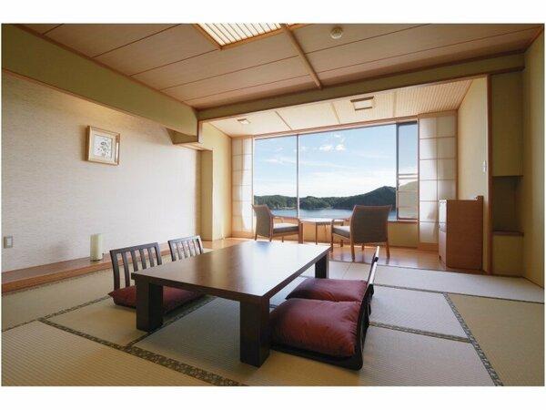 雄大な陸中海岸の景観が満喫できます/海側客室