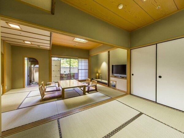 露天風呂付和室 54平米(10畳+6畳)