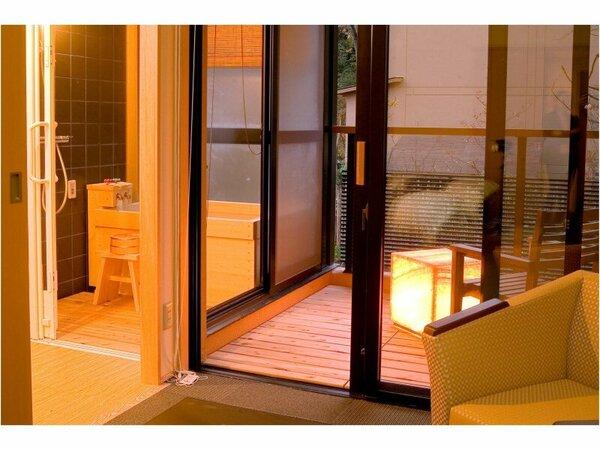 【半露天風呂付き】洋室ツイン 36平米