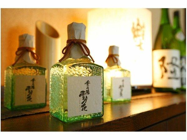 当館自慢の日本酒 正雪