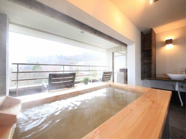 露天風呂付きデラックスルーム(一例)
