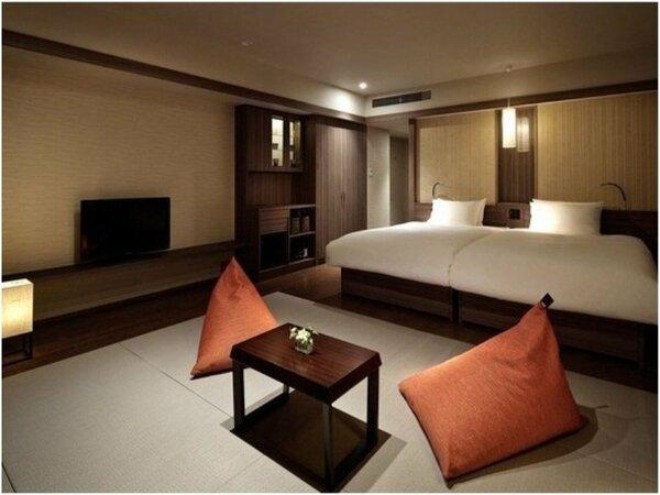 スタンダード和洋室(38平米)全ての客室で光回線による無線LAN接続を無料でご利用いただけます