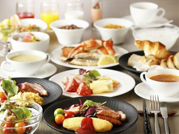 【朝食】4/2にリニューアル!選べる愉しみ和洋ブッフェ