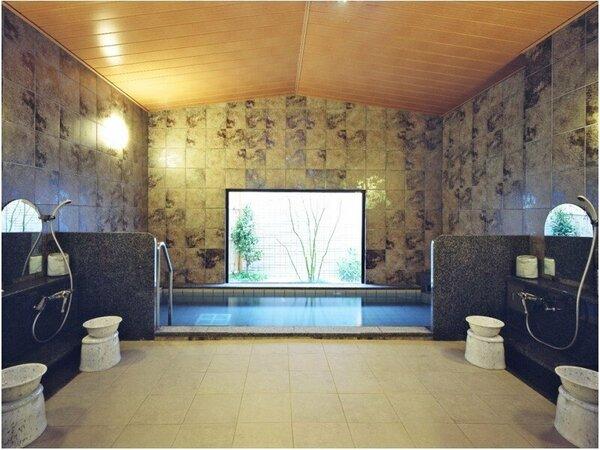 疲れをときほぐすラジウム人工温泉大浴場「旅人の湯」 15:00~2:00、5:00~10:00
