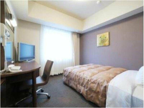 ■シングルルーム ビジネス・一人旅にも最適 全室無料Wi-Fi&加湿機能付空気清浄器完備