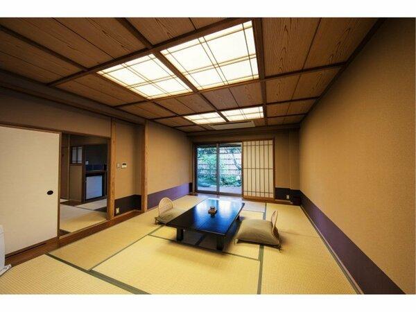 【最上室】和庭の湯上りテラス+庭園風呂2つ付客室『胡蝶』