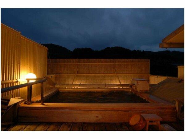 【貸切露天風呂・双月】3か所のうち唯一の予約制とさせていただいております。