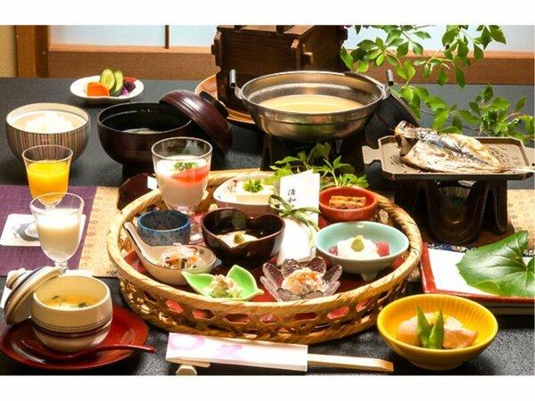 ■ご朝食■一例 お食事処でのお仕度となります