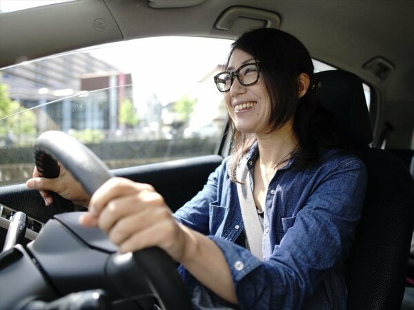 レンタカーでドライブ