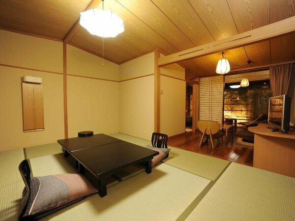 【風の庵】和室10畳温泉露天風呂付