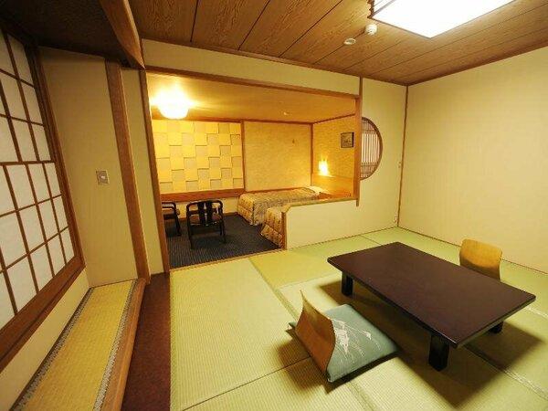 【別館】和洋室≪和室8畳+洋間12平米≫