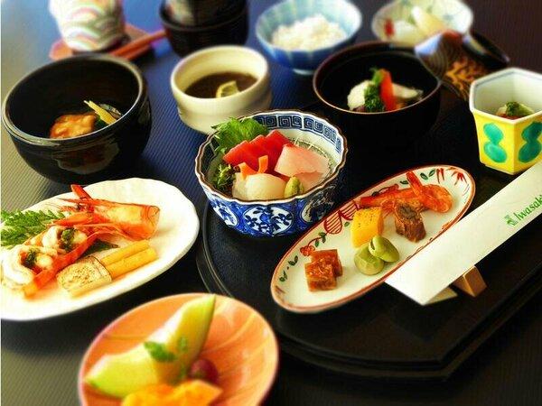 料理の一例(イメージ)夕食は基本・特選どちらとも和食・洋食・和洋よりお選びいただけます。