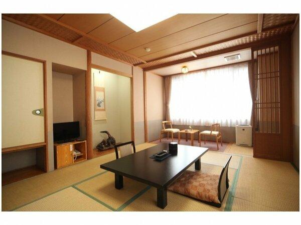 4名様までご利用可能な和室10畳のお部屋です。