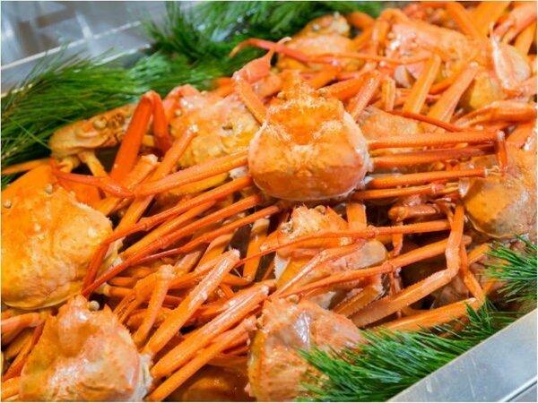 2017年5月までホテル森の風 田沢湖ではカニが食べ放題です!!