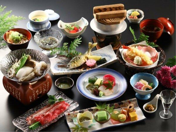 【舞の料理 一例】信州の滋味をご堪能ください
